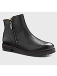 Black Leather With Black Sole Women's Boot | Samuel Hubbard Women Shoes | Sam's Tailoring Fine Men Clothing