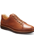 Grey Leather With Black Sole Fine Men's Shoe | Samuel Hubbard Shoes | Sam's Tailoring Fine Men Clothing