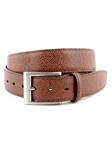 Tan Italian Basketball Grain Embossed Calfskin Belt | Torino Leather Belts | Sam's Tailoring Fine Men Clothing