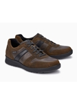 Hazelnut Textile/Leather Lining Men's Sneaker Shoe | Mephisto Shoes | Sam's Tailoring Fine Men Clothing