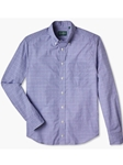 Prince Of Wales Weekend Button Down Sport Shirt | Gitman Sport Shirts | Sam's Tailoring Fine Men Clothing