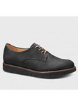 Black Nubuck With Black Sole Women's Shoe | Samuel Hubbard Women Shoes | Sam's Tailoring Fine Men Clothing