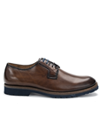 Antique Nut Travis Genuine Calf Leather Shoe | Belvedere Shoes Collection | Sam's Tailoring Fine Mens Clothing