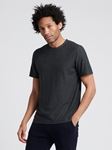 Smoke Silk Cashmere Contour Men T Shirt | Naadam Men Henleys & Tees | Sam's Tailoring Fine Men's Clothing