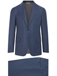 Slate Blue Super 160's Honeyway Wool Suit | Hickey Freeman Suit Collection | Sam's Tailoring Fine Men Clothing