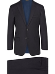Navy Super 150's Wool Tasmanian A-Fit Suit | Hickey Freeman Tasmanian Suits | Sam's Tailoring Fine Men Clothing