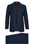 Arctic Navy Super 150's Tasmanian Wool Suit | Hickey Freeman Tasmanian Suits | Sam's Tailoring Fine Men Clothing