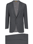 Iron Grey Super 130's Wool Four Seasons Suit | Hickey Freeman Suits Collection | Sam's Tailoring Fine Men Clothing