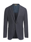 Slate Blue Touch of Silk Weightless Jacket | Hickey Freeman Sportcoats Collection | Sam's Tailoring Fine Men Clothing