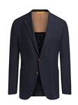 Denim Blue Silk Air Modern H-Fit Men's Jacket | Hickey Freeman Sportcoats Collection | Sam's Tailoring Fine Men Clothing