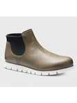Olive Green Oiled Nubuck With Light Grey Sole Women Boot | Samuel Hubbard Women Shoes | Sam's Tailoring Fine Men Clothing
