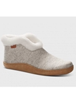 Oatmeal Heather Wool With Sand Suede Sole Women Shoe | Samuel Hubbard Women Shoes | Sam's Tailoring Fine Men Clothing