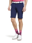 Navy B-St. Andrews Ultra Stretchy Golf Bermuda Short |  Meyer Golf Shorts | Sam's Tailoring Fine Men Clothing