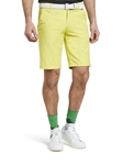 Yellow B-St. Andrews Ultra Stretchy Golf Bermuda Short |  Meyer Golf Shorts | Sam's Tailoring Fine Men Clothing