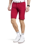 Red B-St. Andrews Ultra Stretchy Golf Bermuda Short |  Meyer Golf Shorts | Sam's Tailoring Fine Men Clothing