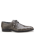 Grey Genuine Alligator Tassel Laces Lago Shoe | Belvedere Spring & Summer 2020 Collection | Sam's Tailoring Fine Men's Clothing