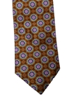 Rust Brown Medallion Heritage Estate Tie | Estate Ties Collection | Sam's Tailoring Fine Men's Clothing