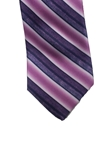Lavender On Lavender Stripes Corporate Estate Tie | Estate Ties Collection | Sam's Tailoring Fine Men's Clothing
