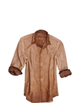 Brown Garment Dyed Woodlands Overshirt/Shirt | Georg Roth Shirts | Sams Tailoring Fine Mens Clothing