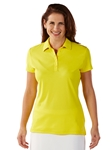 Mimosa Supreme Cotton Short Sleeve Women's Polo Shirt | Bobby Jones Women's Polos | Sam's Tailoring Fine Women's Clothing