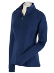 Summer Navy Madeleine Quarterzip Women's Tech Pullover | Bobby Jones Women's Pullovers | Sam's Tailoring Fine Women's Clothing