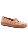 Petal Pink Suede Hand Crafted Women's Shoe | Samuel Hubbard Women Shoes | Sam's Tailoring Fine Men Clothing