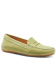 Pear Suede With Tan Sole Handcrafted Women Shoe | Samuel Hubbard Women Shoes | Sam's Tailoring Fine Men Clothing