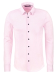 Light Pink Texture Knit Men's Long Sleeve Shirt | Stone Rose Shirts Collection | Sams Tailoring Fine Men Clothing