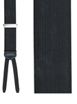 Black Formal Regal Big And Tall Brace | Trafalgar Braces Collection | Sams Tailoring Fine Men's Clothing