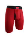 Crimson 9 Inch Power Shift Long Leg Underwear | 2Undr Long Leg Underwear | Sam's Tailoring Fine Men Clothing