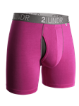 Pink Swing Shift 6 Inch Boxer Brief | 2Undr Boxer Brief | Sam's Tailoring Fine Men Clothing