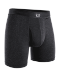Charcoal Night Shift 6 Inch Boxer Brief | 2Undr Boxer Brief | Sam's Tailoring Fine Men Clothing