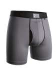 Cool Grey Power Shift 6 Inch Brief Boxer | 2Undr Boxer Brief | Sam's Tailoring Fine Men Clothing