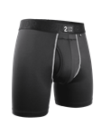 Black Power Shift 6 Inch Brief Boxer | 2Undr Boxer Brief | Sam's Tailoring Fine Men Clothing