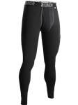 Black /Grey 4-Way Stretch Long John Underwear | 2Undr Long John | Sam's Tailoring Fine Men's Clothing