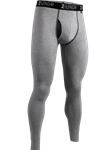 Heather Grey 4-Way Stretch Long John Underwear | 2Undr Long John | Sam's Tailoring Fine Men's Clothing
