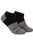 Black/Grey/Maroon Sport Ankle Sock | 2Undr Accessories | Sam's Tailoring Fine Men's Clothing