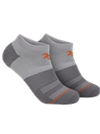 Grey/Grey/Orange Sport Ankle Sock | 2Undr Accessories | Sam's Tailoring Fine Men's Clothing