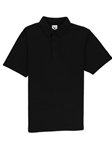 Black Comfort Pique Men's Rosewood Polo | Vastrm Polo Shirts | Sam's Tailoring Fine Men Clothing
