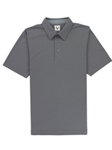 Machine Grey Lightweight Pique Men's Hampton Polo | Vastrm Polo Shirts | Sam's Tailoring Fine Men Clothing