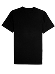 Black Jersey Fabric Short Sleeve Crew Neck Tee | Vastrm Tees Collection | Sam's Tailoring Fine Men Clothing