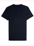 Navy Jersey Fabric Short Sleeve Crew Neck Tee | Vastrm Tees Collection | Sam's Tailoring Fine Men Clothing