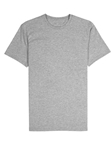 Heather Grey Jersey Fabric Short Sleeve Crew Neck Tee | Vastrm Tees Collection | Sam's Tailoring Fine Men Clothing