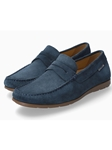 Mulberry Smooth Leather Ultra Light Men's Loafer | Mephisto Loafers Collection | Sam's Tailoring Fine Men's Clothing