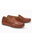 Cognac Leather Lining Nubuck Men's Loafer | Mephisto Loafers Collection | Sam's Tailoring Fine Men's Clothing