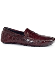 Ruby Ercole Alligator Men's Driving Loafer | Mauri Men's Loafers | Sam's Tailoring Fine Men's Clothing