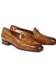 Brandy S Ghiberti Alligator Slip On Men Loafer | Mauri Men's Loafers | Sam's Tailoring Fine Men's Clothing