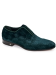 Emerald Stunning Diamond Shaped Fabric Loafer | Mauri Men's Loafers | Sam's Tailoring Fine Men's Clothing