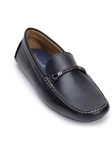 Black Premium Soft Calf Leather Men's Loafer | Belvedere Studio Collection Shoes | Sam's Tailoring Fine Men's Clothing