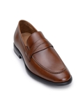Antique Tan Italian Nappa Leather Classic Penny Loafer | Belvedere Studio Collection Shoes | Sam's Tailoring Fine Men's Clothing